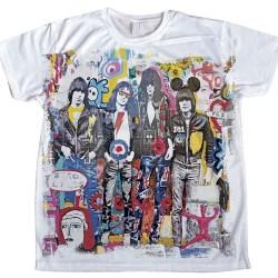camiseta ramones pintura