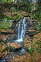 Wharnley Burn Waterfall