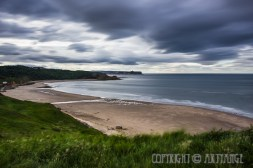 Cayton Bay from Killerby Cliff