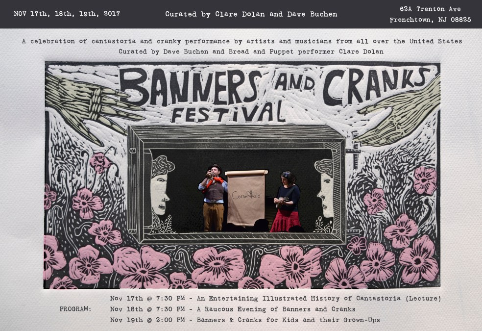 The Banners and Cranks Festival is Coming to ArtYard!