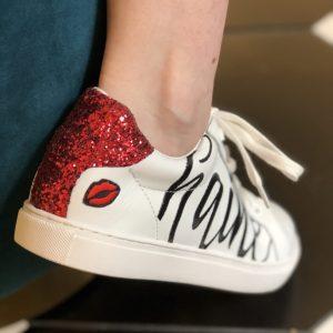 Bons Baisers de Paname sneakers Amour/Haine