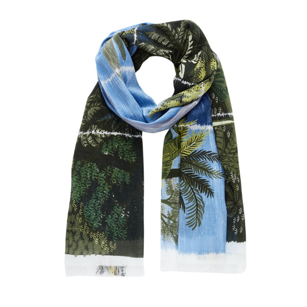 Inouitoosh-ss20-echarpe-coton-lin-paysage-mayotte-vert