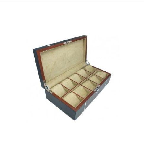 Kronokeeper-boite-a-montres-10-pieces-chene-laque-bleu-artydandy