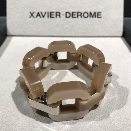 xavier-derome-bracelet-acetate-nude-artydandy