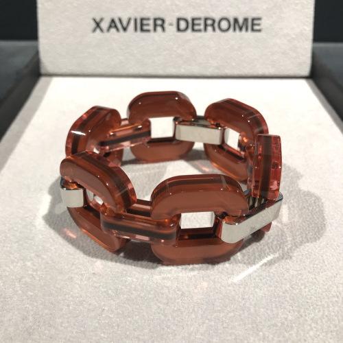 xavier-derome-bracelet-acetate-rouille-artydandy