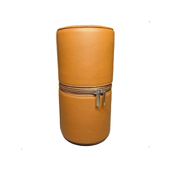 kronokeeper-tube-cuir-etui-de-voyage-camel-pour-2-montres-artydandy