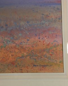 original-watercolour-by-ben-shearer-signed-and-info-on-verso-roads-north-nt4