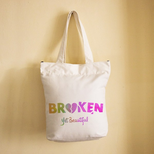 Broken Yet Beautiful-UnErase Poetry x Priya Malik-Bag