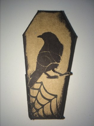 Spooky Coffin made from Cricut® Artiste Collection available from www.maz.ctmh.com.au