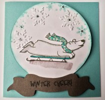 Polar Bear Sleighing Cheer - Polar Bear Holiday