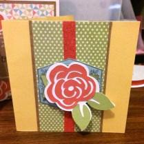 Framed – Aug 2015 SOTM Flower Card
