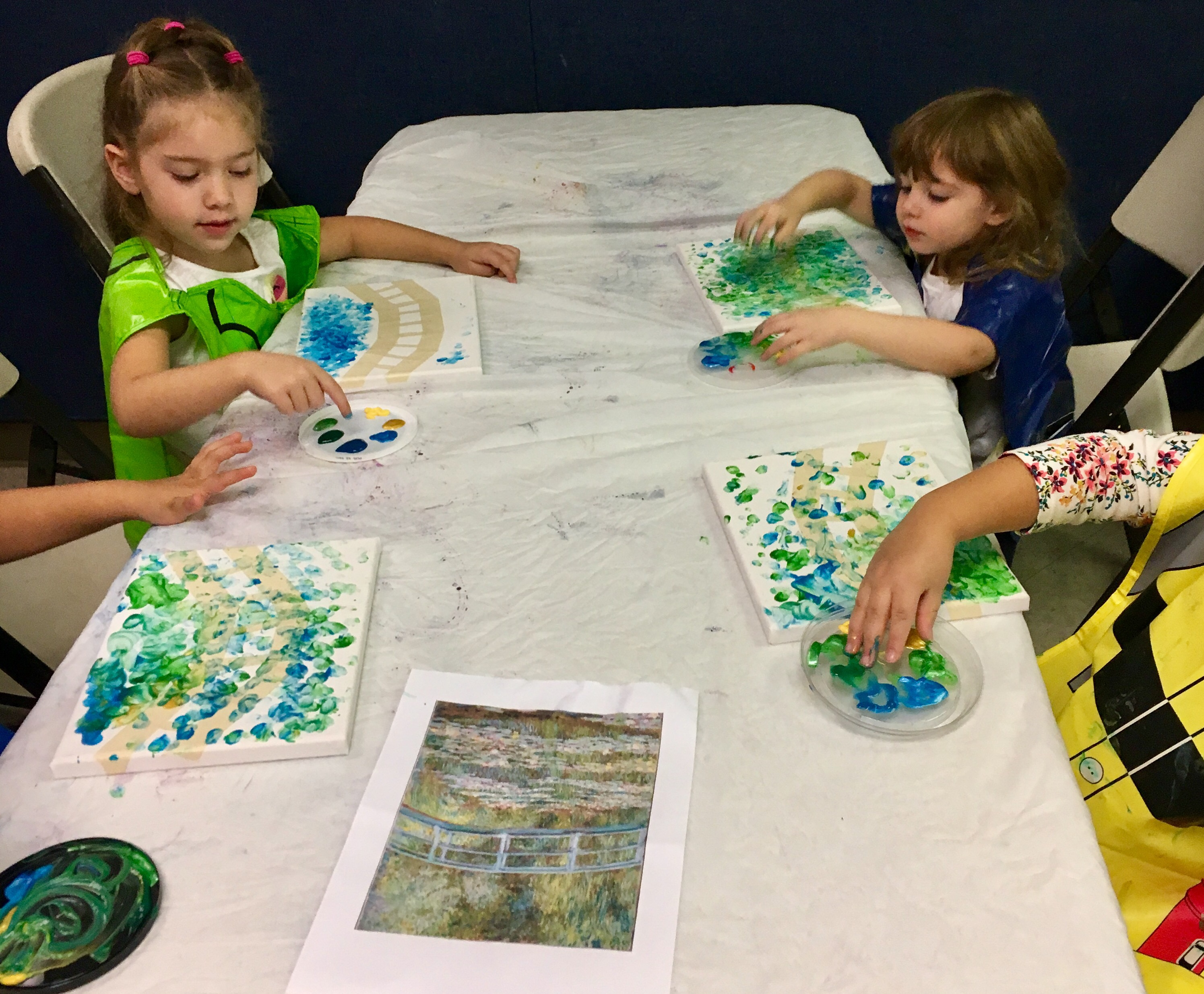 Impressionism For Kids Finger Painting With Monet Arty