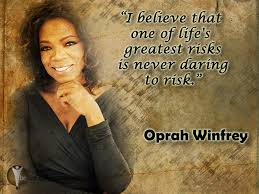 Do You Know What Is One Of Life's Greatest Risks?