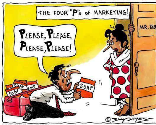 4P's of marketing