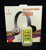 16 Gigabyte Ipod Nano with Solo Flips Audio Headphones