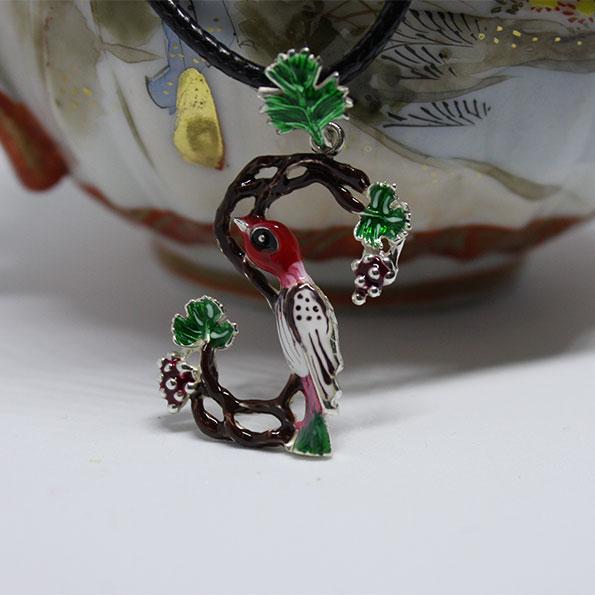 Armenian Handmade Pendant D ENAMEL