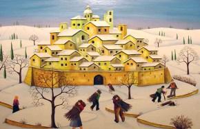 Nevicate Sulla Cittadella