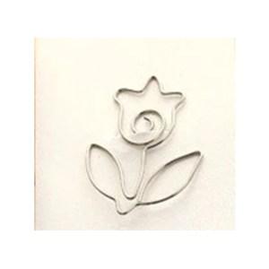 Silver Metal Flower