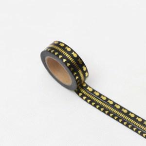 Black gold foil
