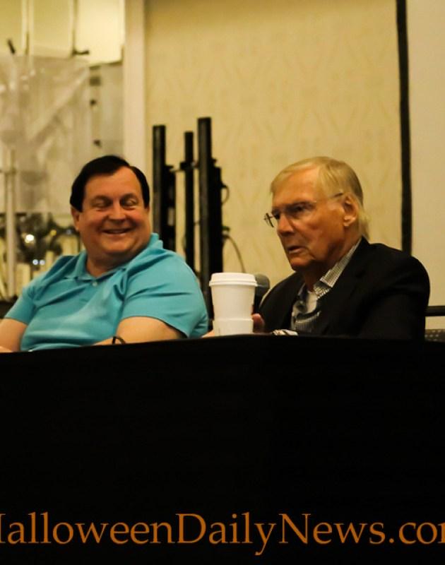Burt Ward and Adam West