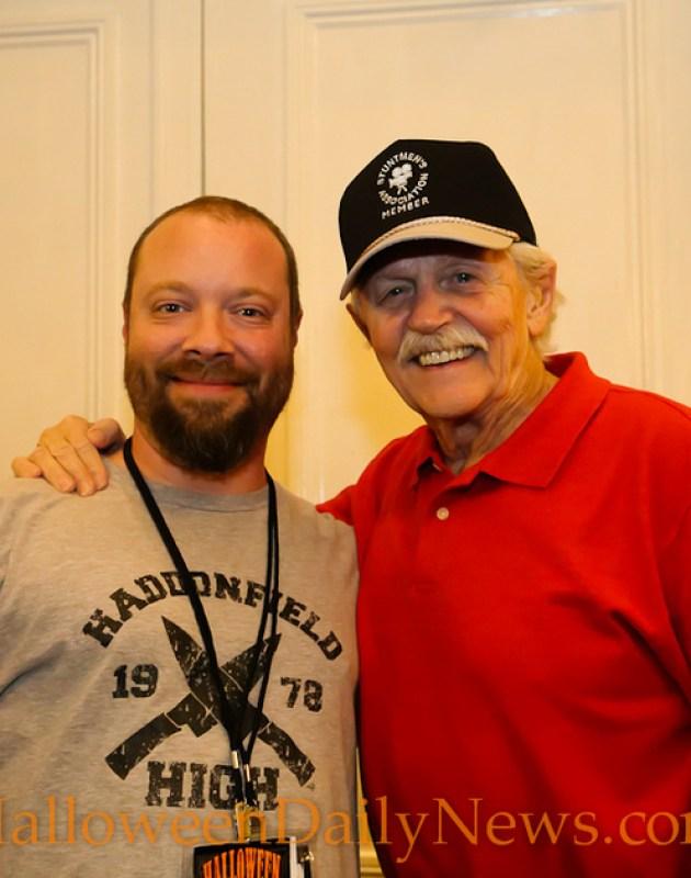 HDN's Matt Artz with Dick Warlock