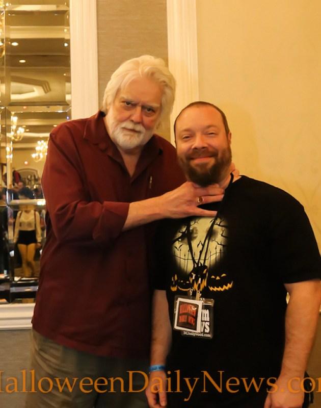 Gunnar Hansen with HDN's Matt Artz