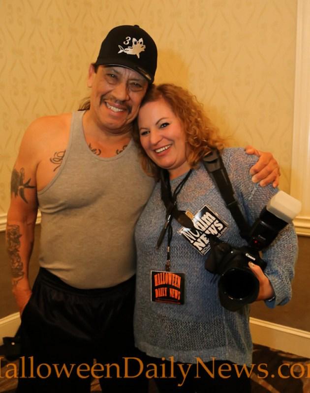 Danny Trejo with HDN's Sue Artz