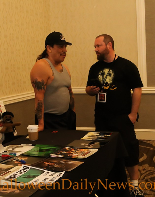 HDN's Matt Artz with Danny Trejo
