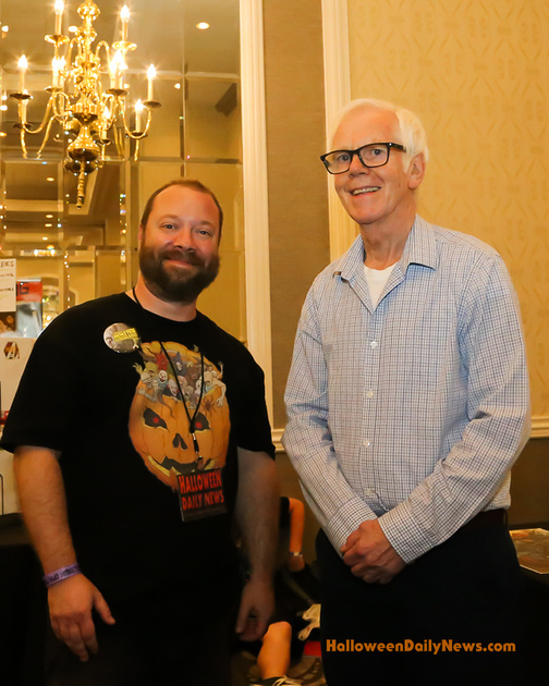 HDN's Matt Artz with Jeremy Bulloch