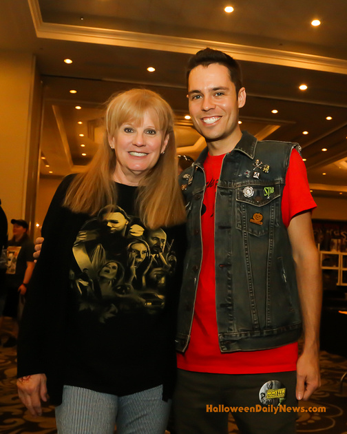 P.J. Soles with Kenny Caperton of The Myers House NC