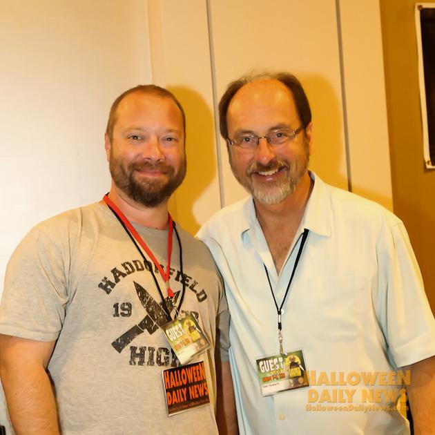 HDN's Matt Artz with Alan Howarth