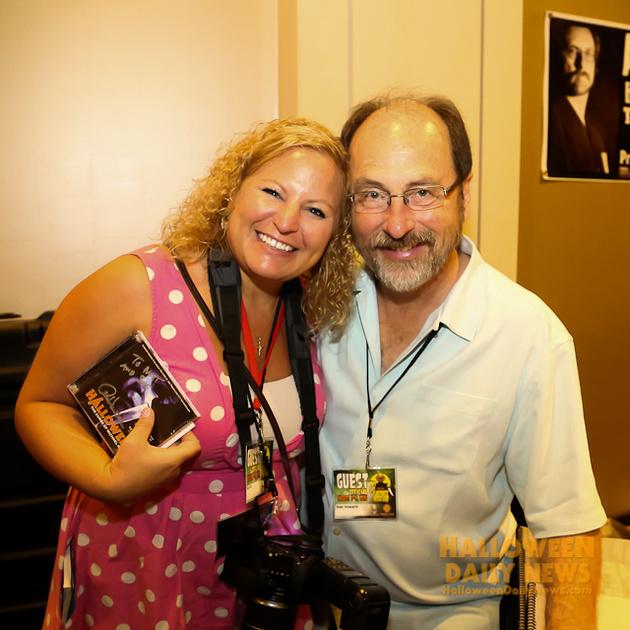 HDN's Sue Artz with Alan Howarth