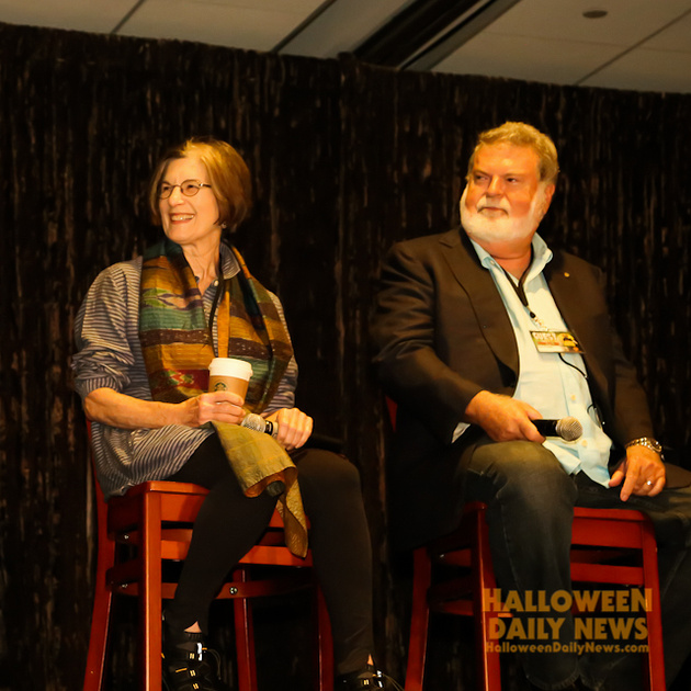 Nancy (Loomis) Kyes and Dean Cundey