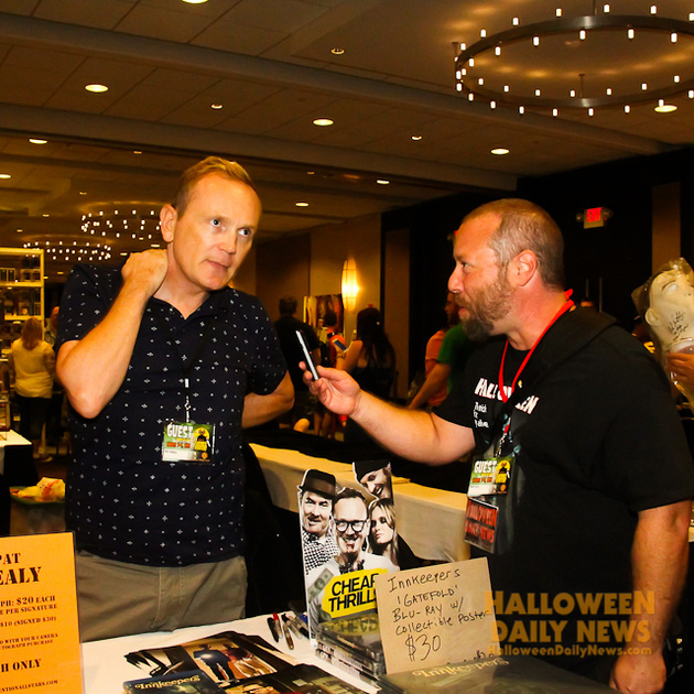 HDN's Matt Artz interviewing Pat Healy