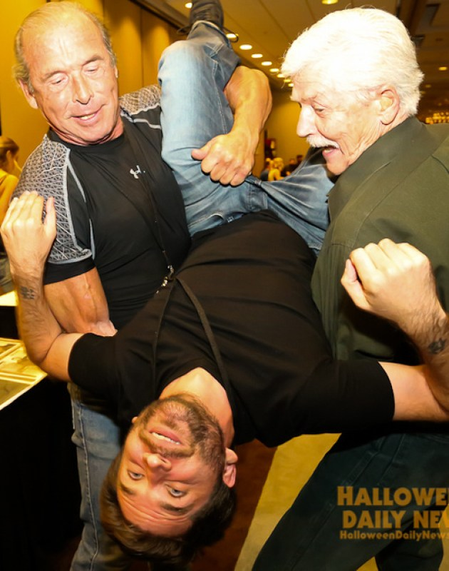 Dick Warlock, Erik Preston, and Don Shanks