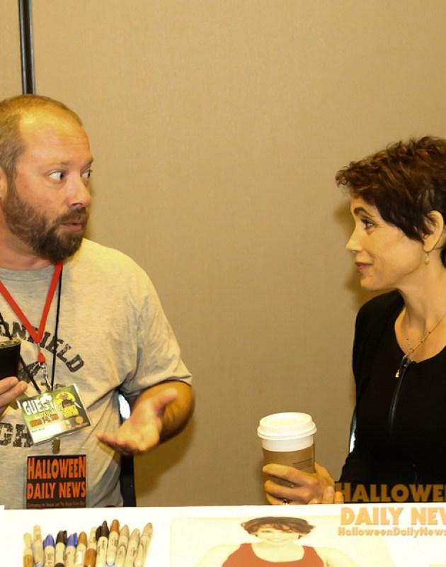 HDN's Matt Artz interviewing Stacey Nelkin