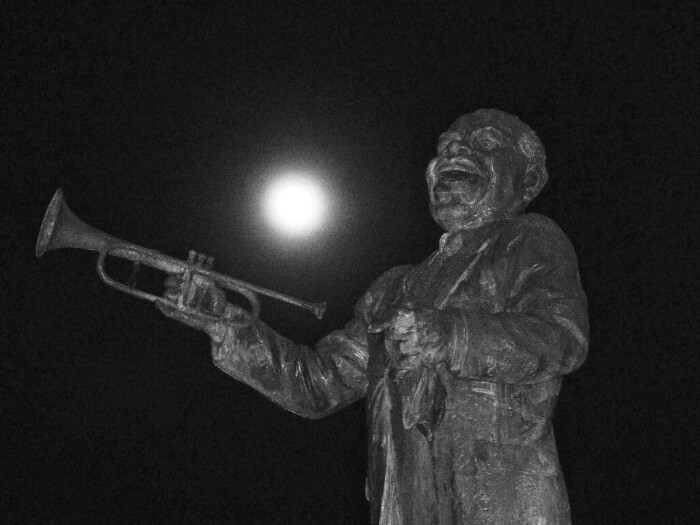 Louis Armstrong, New Orleans.