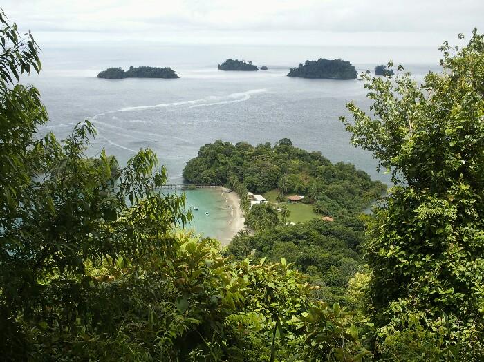 Coiba uhartea. Panama.
