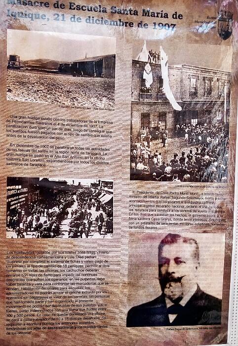 Museo Regional-eko posterra. Iquique, Txile.