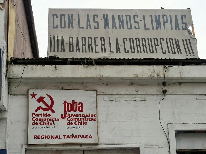 Txileko Alderdi Komunistaren egoitza. Iquique, Txile.