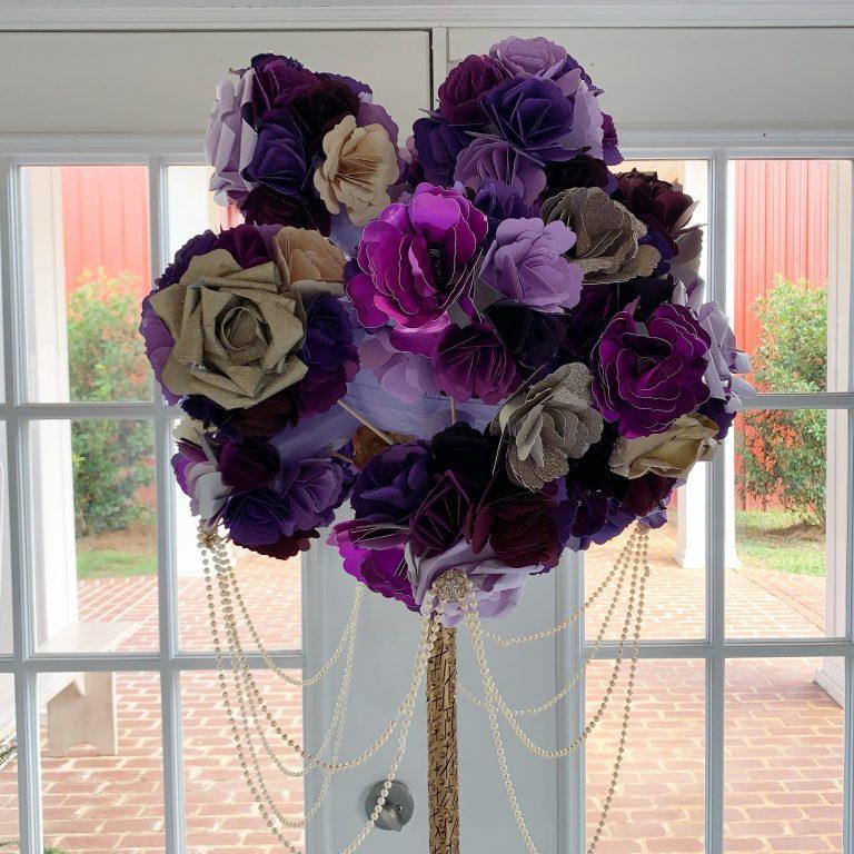 Bobbie's Wedding: Paper Flower Bouquet