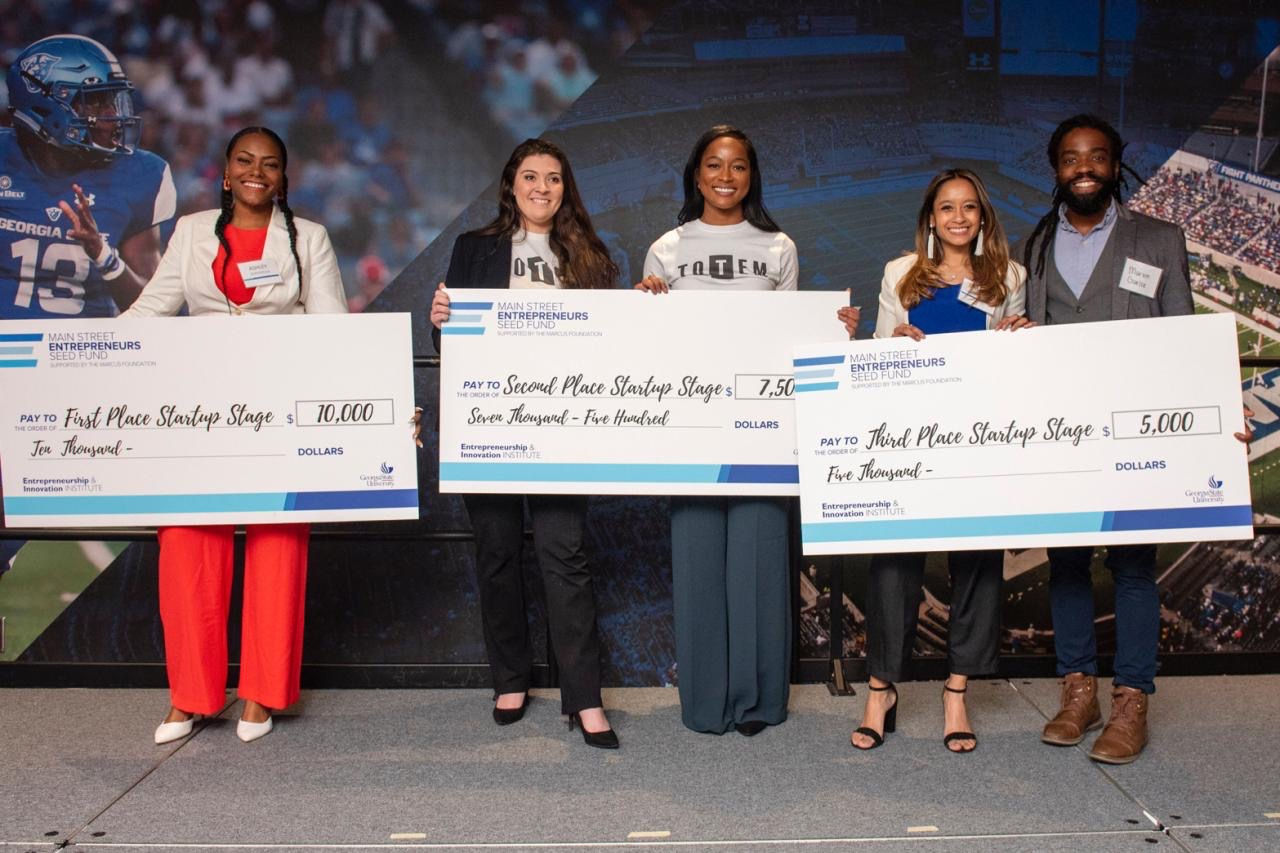 South Fulton native, among winners at GSU competition to fund product launch