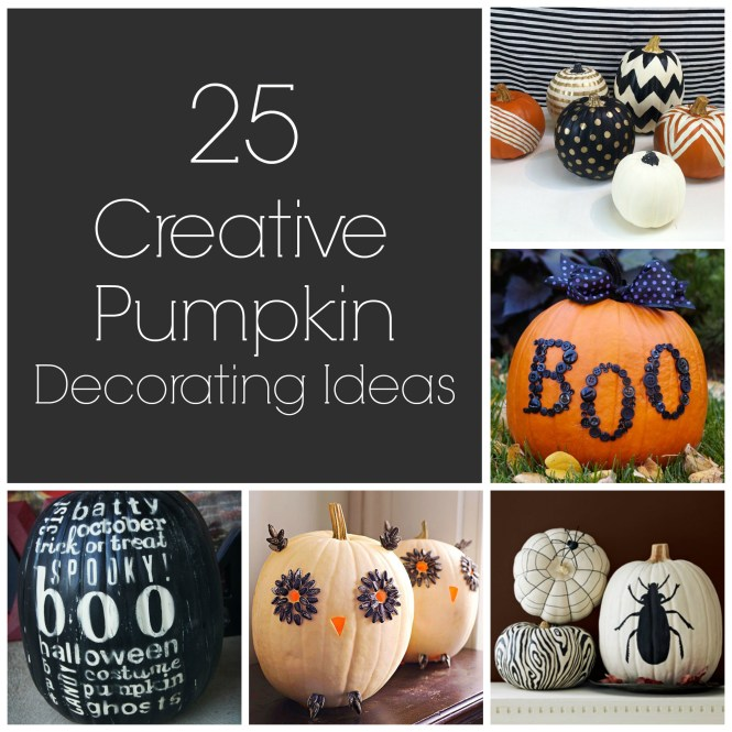 Whimsicaly Carved Pumpkin Decoration
