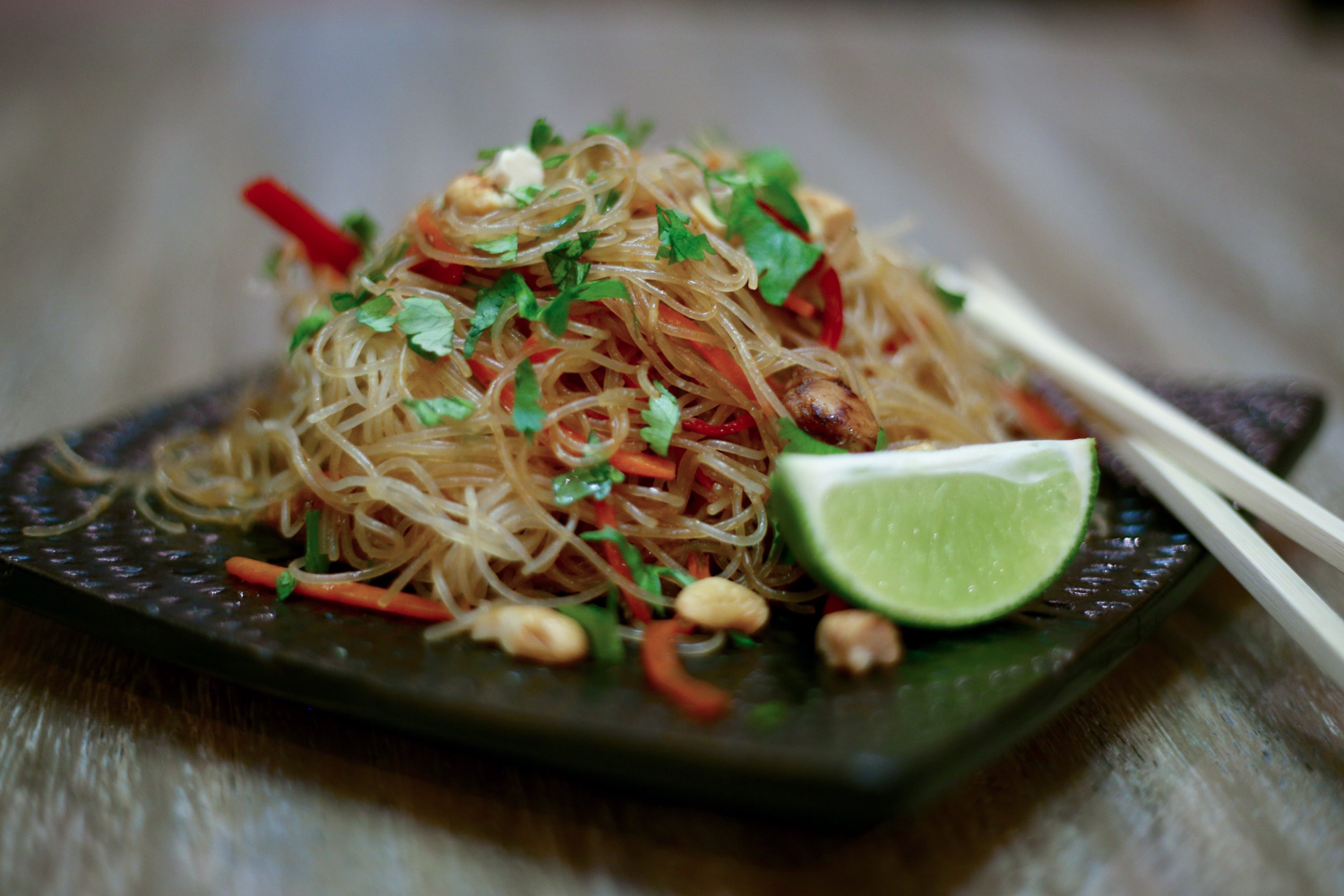 Spicy Asian Noodles-who needs takeout?