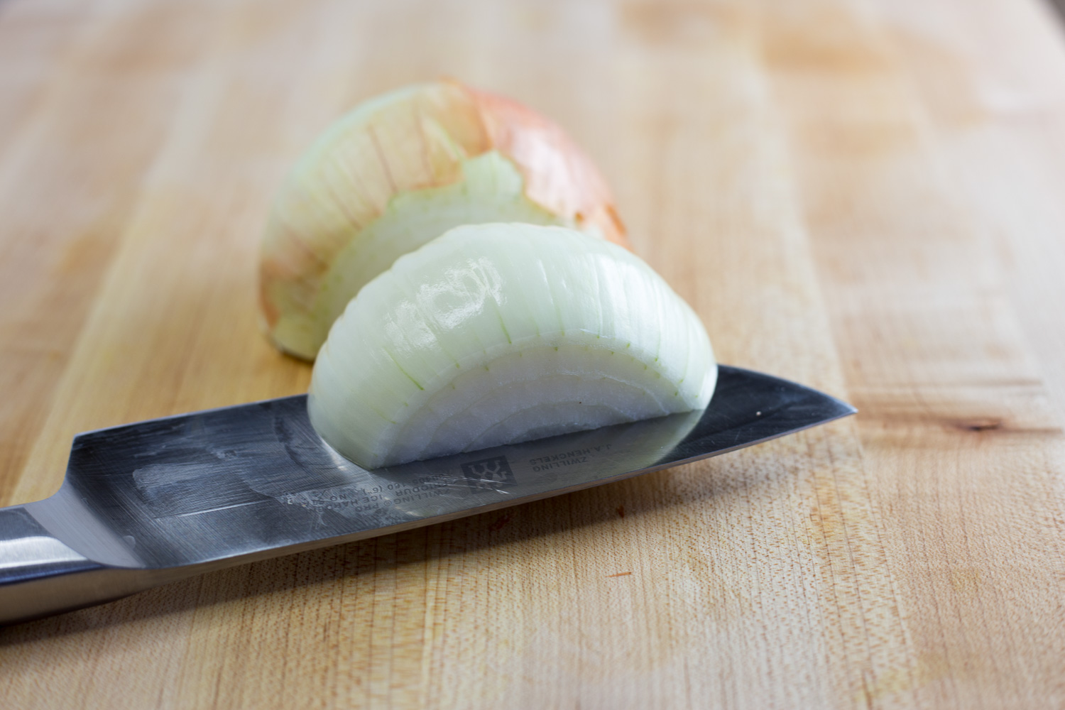Learn to properly dice an onion with no tears!