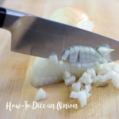 Learn to Properly Dice an Onion with no Tears