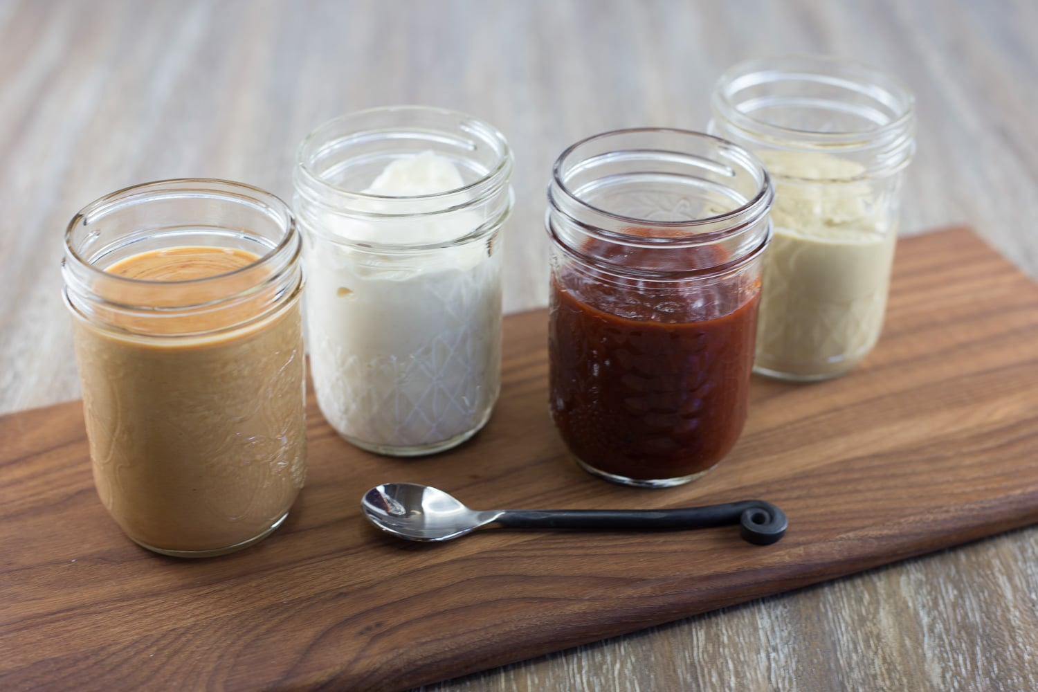 Kick up those boring condiments by adding some extra flavor!
