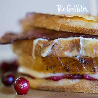 Gobbler Sandwich With a Moist Maker