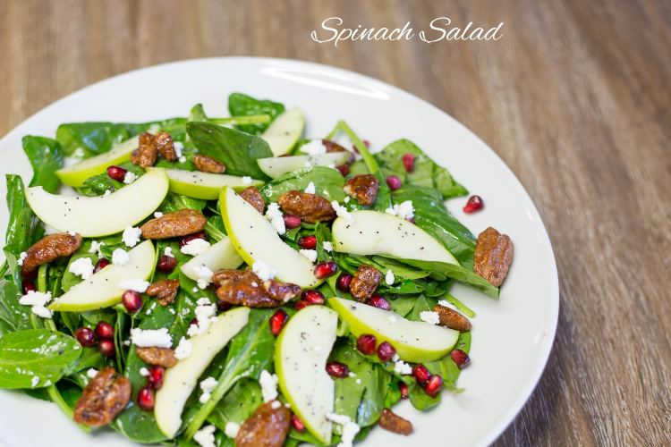 Thanksgiving Menu-Spinach Salad