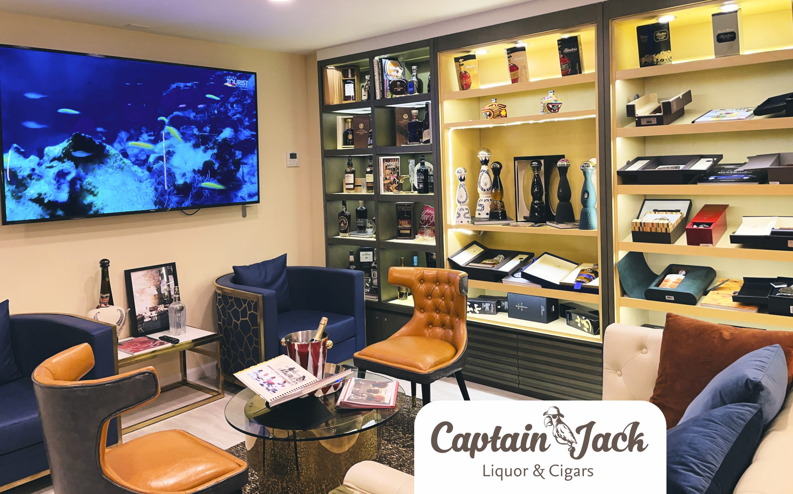 A hidden VIP liquor room unveiled in Aruba!